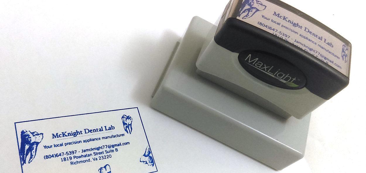 Custom Company Stamp