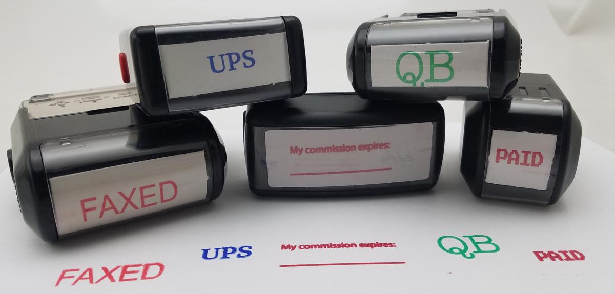 Custom Made Stamps