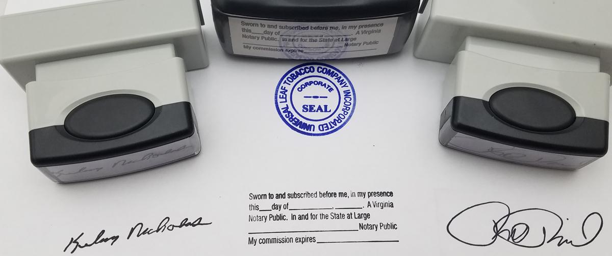 Customized Self Inking Stamp