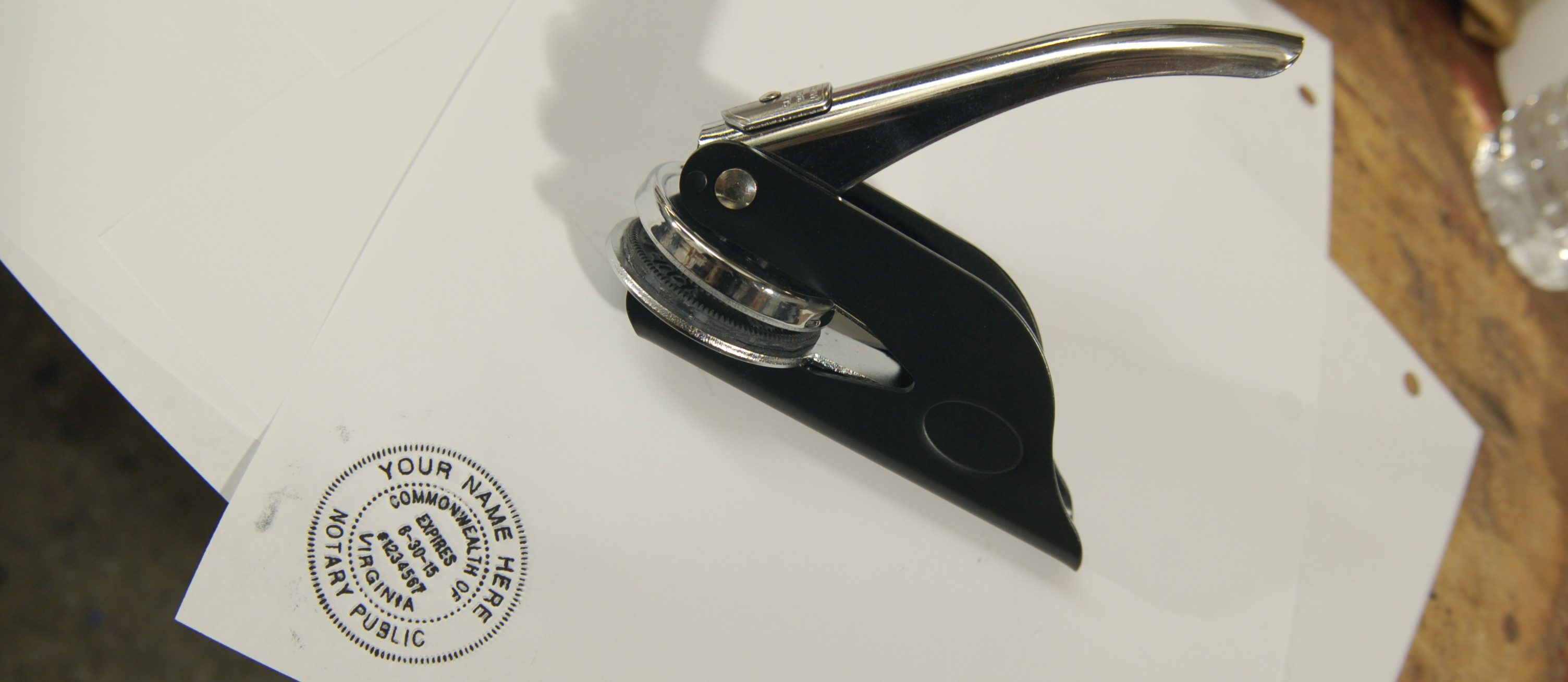 personalized seal stamp
